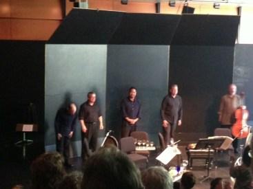 Taking a bow   Alexander String Quartet