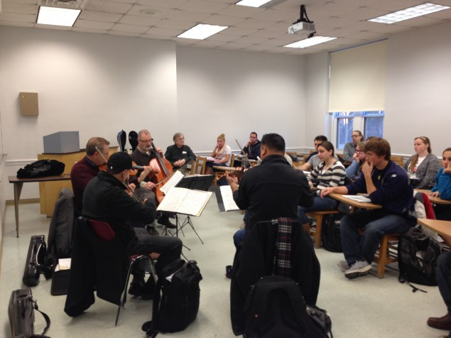 ASQ in Professor Jeff Cross's Physiological Psychology class at Allegheny College!
