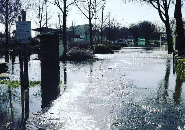 Inondations à la Rabine