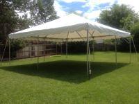 White Canopy Tent & Canopy Frame Tent 20u2032 X 20u2032 White