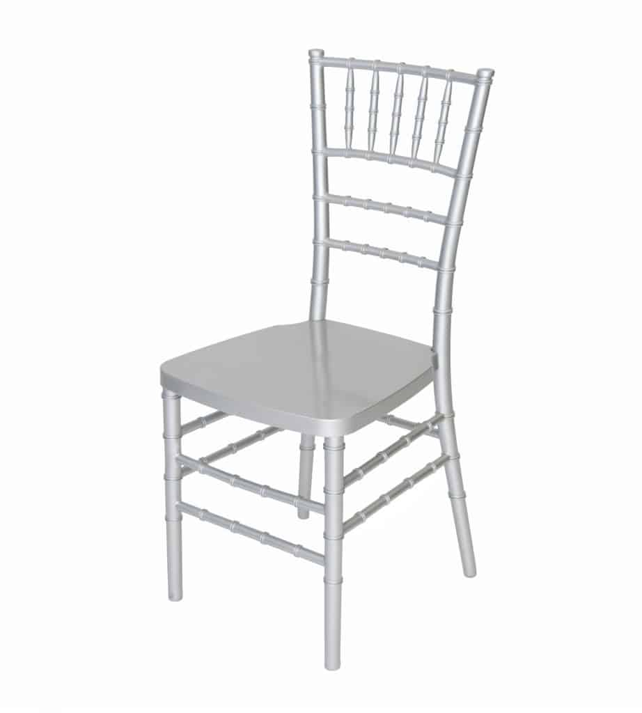 Rent Silver Chivari Chairs at All Seasons Rent All for the