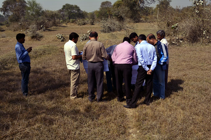 Field visit to Angul-Sukinda new rail-line alignment by MD/ASRL, CRC, CPM/RVNL/BBS and Senior Officials of Container Corporation of India (CCI) in connection with development of Depot for CCI dated 03rd Feb' 2014