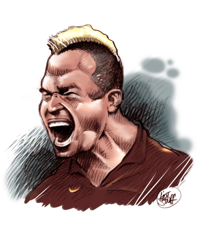 Nainggolan cartoon