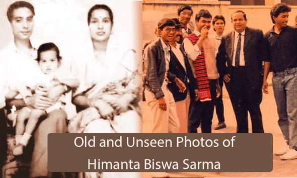 Old and Unseen Photos of Himanta Biswa Sarma