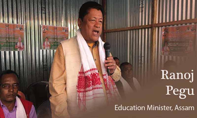 ranoj pegu education minister