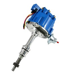 ford 351w hei blue cap distributor 65k coil assault racing products [ 1000 x 1000 Pixel ]
