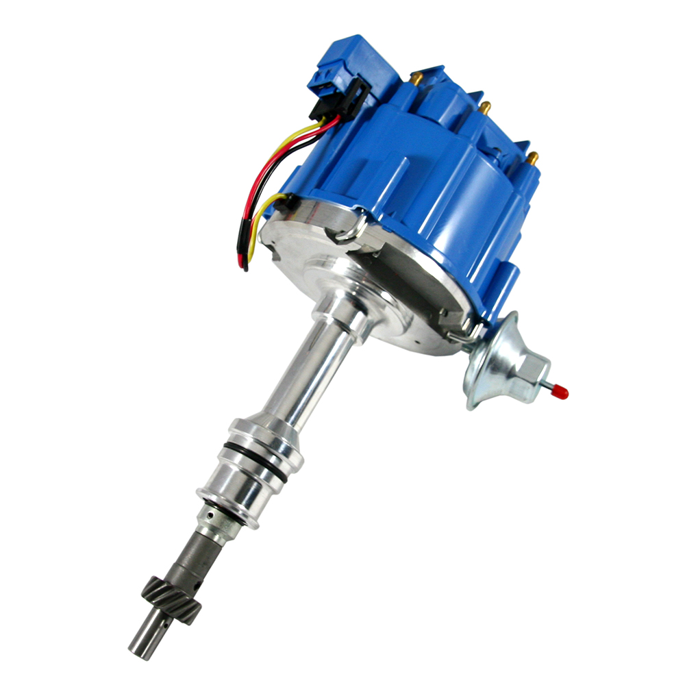 hight resolution of ford 351w hei blue cap distributor 65k coil assault racing products