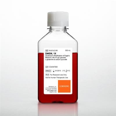 DMEM 4.5 G/L GLUCOSE, L-GLUTAMINE, AND SODIUM PYRU 6x500 ML