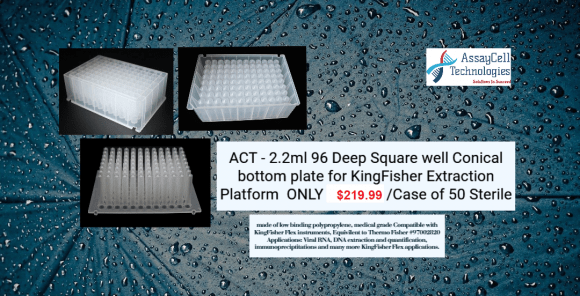 deepwell plates for kingfisher