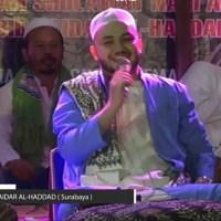 Habib Haidar Al-Haddad; Persembahkan Sholawat di Haul KH. Zahrowi