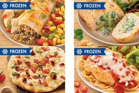 nutrisystem frozen dinners