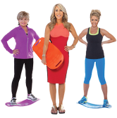 Simply Fit Board – The Fun Twist Workout Board on Shark Tank