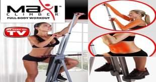 MaxiClimber Climb Your Way To Fitness!