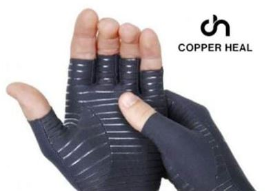 copper heal gloves