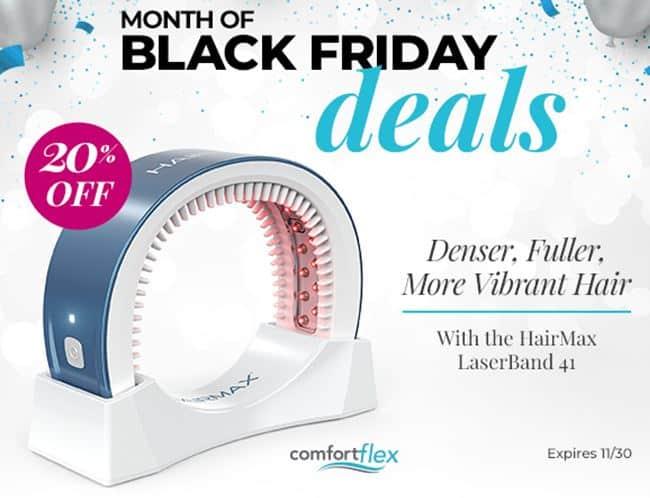 HairMax LaserBand 41 Black Friday Deal Save 20%