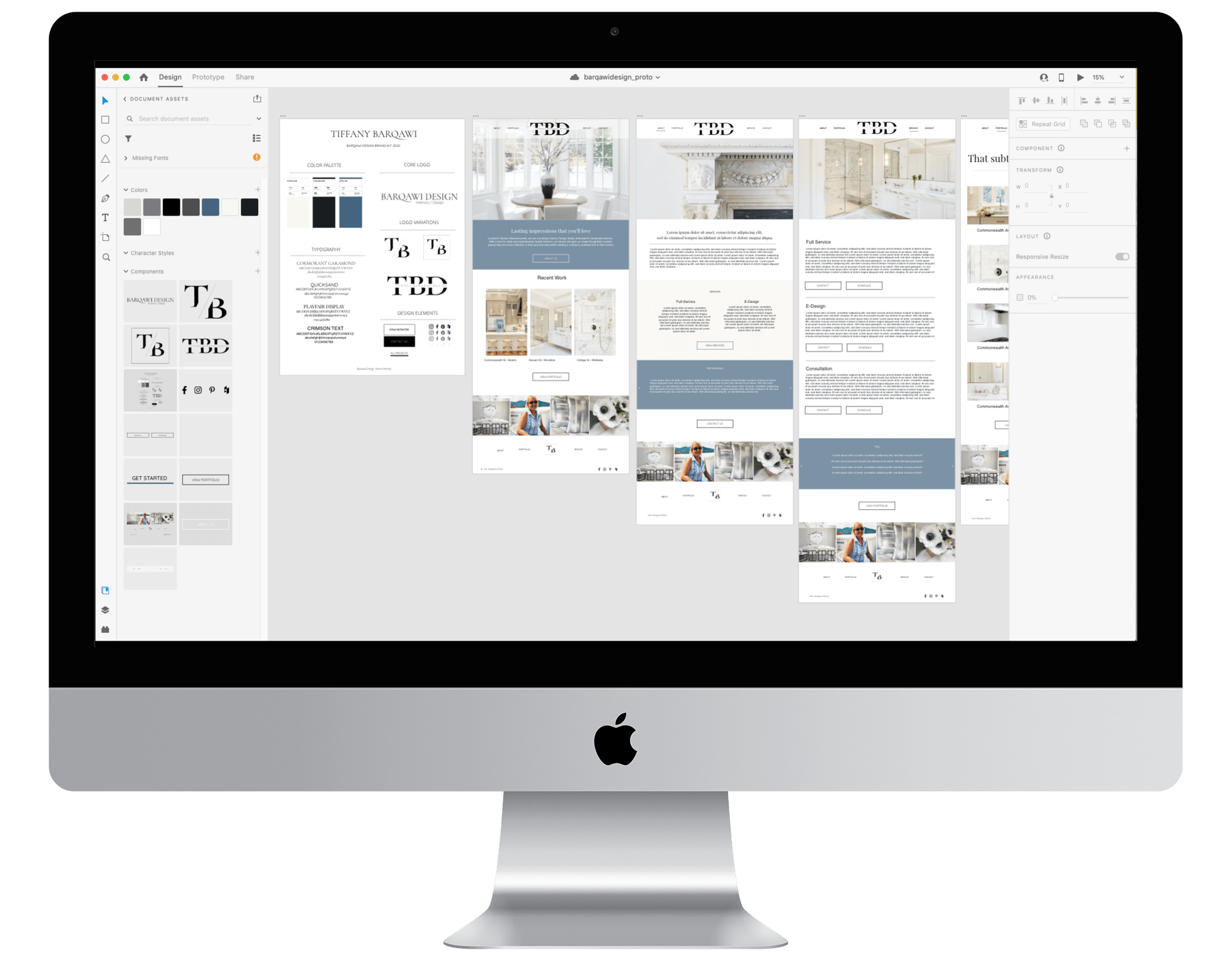 Device Mockup with AdobeXD