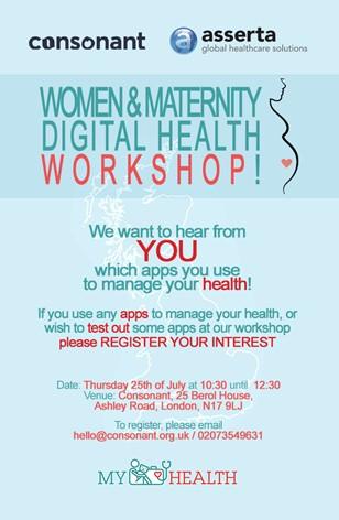Women & maternity digital health workshop