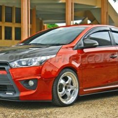 Toyota Yaris Trd Modif Grill Chrome Grand New Avanza All Sportivo 2014 Pecinta Street Racing Gridoto Com