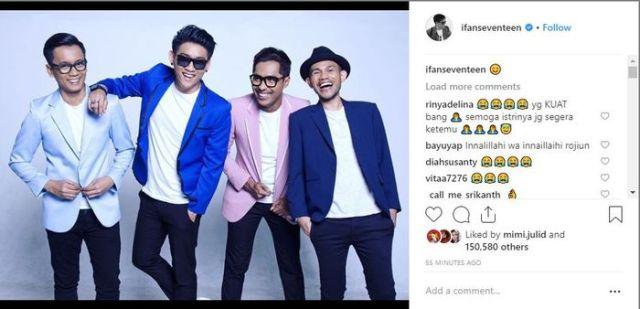 Ifan Seventeen membagikan potret personel Seventeen