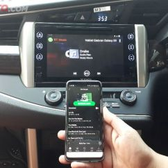 Cara Pengoperasian Audio All New Kijang Innova Brand Camry Se Tujuh Pairing Bluetooth Di Toyota Reborn Tipe V