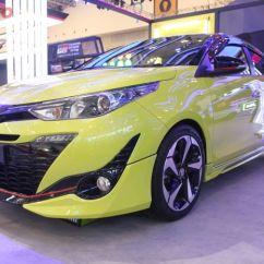 Toyota Yaris Trd Modif Grand New Avanza 1.3 G 2018 Cukup Ganti Pelek Sportivo Jadi Tambah Sporty Ubahan Simpel