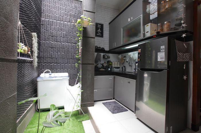 Desain Dapur Terbuka Rumah Type 36