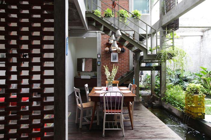 Inspirasi Desain Rumah Paduan Industrial dan Urban Tropis