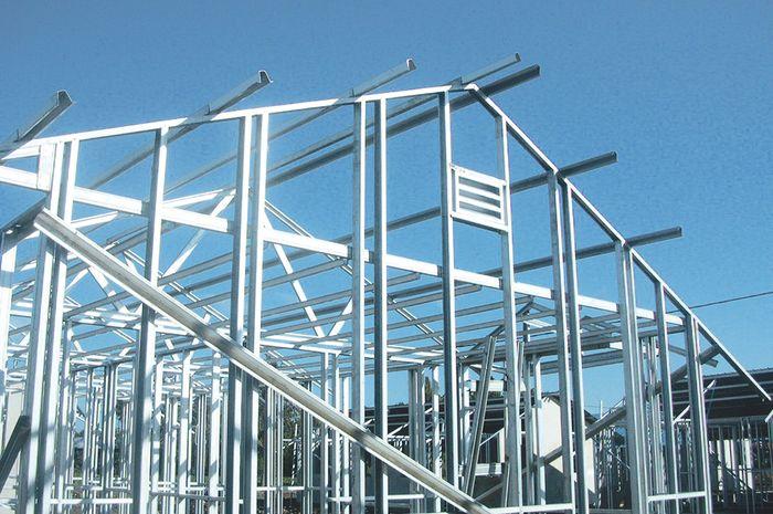 nama bahan untuk baja ringan selain lebih praktis ternyata atap tahan lama dan