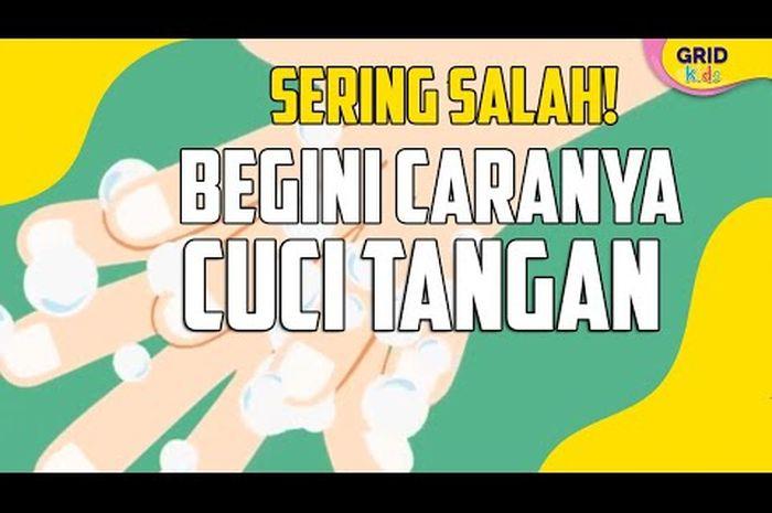 Orang Indonesia Positif Corona, Ini Cara Mencuci Tangan yang Benar ...
