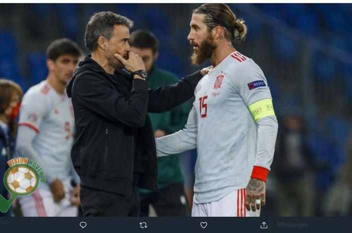 Bukan keputusan mudah bagi laporte membela spanyol, setelah sebelumnya 51 kali berseragam prancis di level junior. Timnas Spanyol Tanpa Sergio Ramos di Piala Eropa, Ini ...