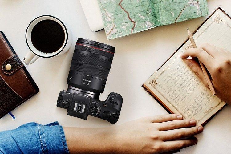 Canon Eos Rp Kamera Mirrorless Full Frame Dengan Desain Ramping