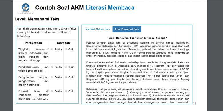 Download contoh soal asesmen kompetensi minimal akm lengkap. Kunci Jawaban Soal Akm Bahasa Indonesia Siswapelajar Com