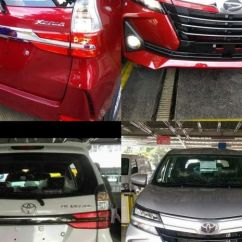 Grand New Avanza Vs Xenia Toyota Yaris Trd Merah And Daihatsu Complete Model Change Or Extensive Facelifting All Pages