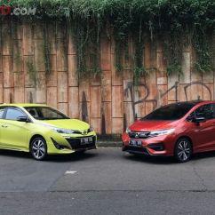 Toyota Yaris Trd Vs Honda Jazz Rs Grand New Avanza All Adu Desain Siapa Yang Terkeren Semua Komparasi Compact Hatckback Antara Dan Sportivo