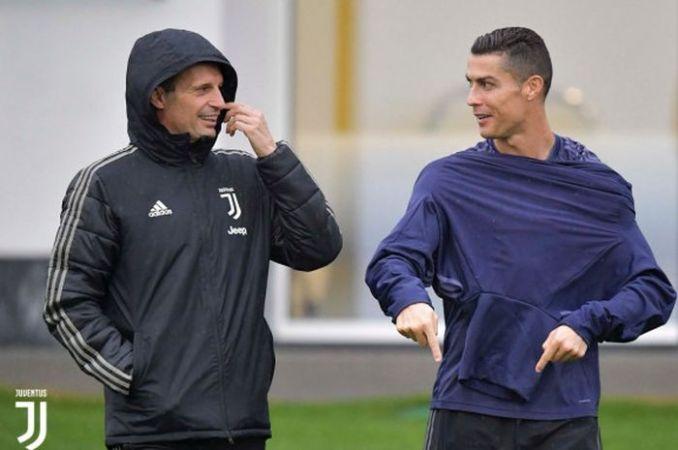 Allegri Pamit, Cristiano Ronaldo Merespons dengan Tujuh Kata - Bolasport.com