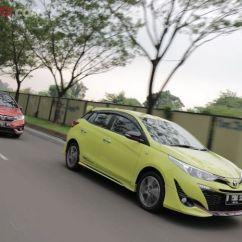 Toyota Yaris Trd Vs Honda Jazz Rs All New Camry Hybrid 2019 Komparasi Antara Dan Mana Yang Lebih Nyaman Semua Sportivo