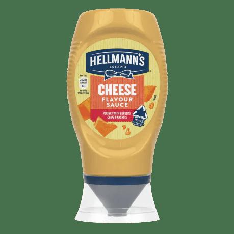 Hellmann's Cheese Flavour Sauce 250ml squeeze