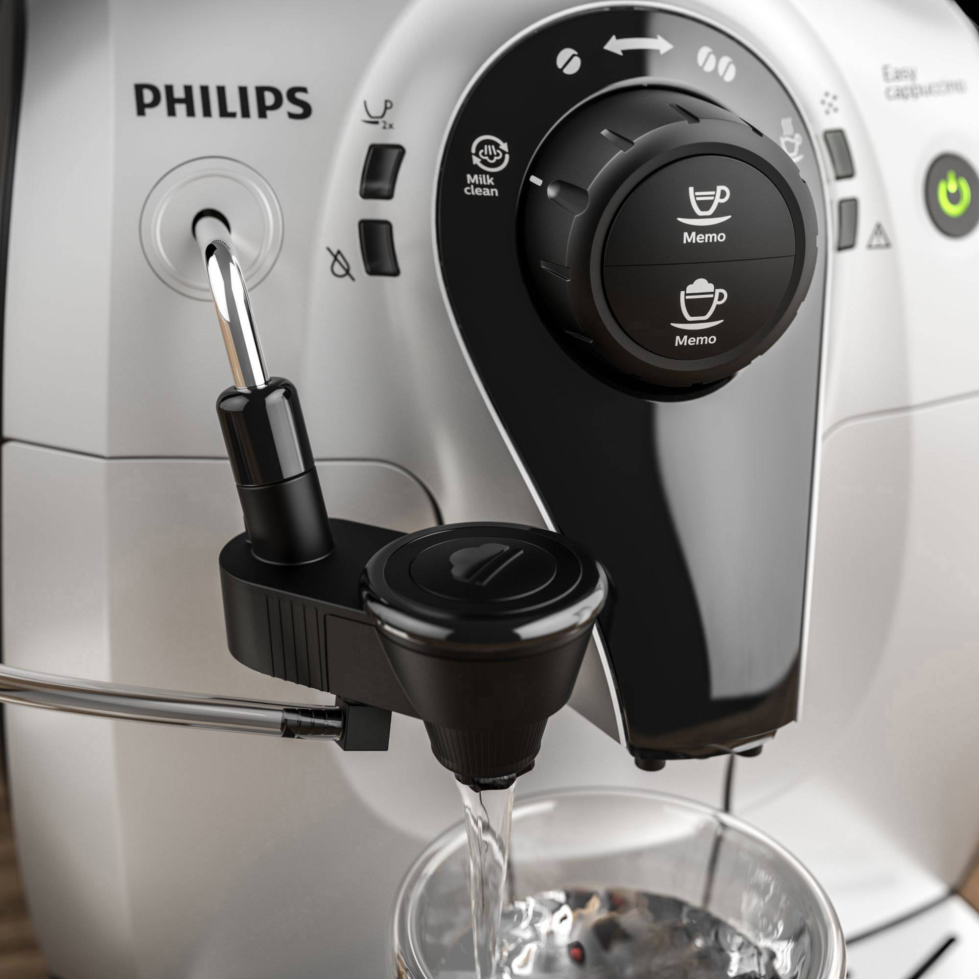 Kaffeevollautomat Philips 2100 Series Hd8652/51 Schwarz-Silber Im
