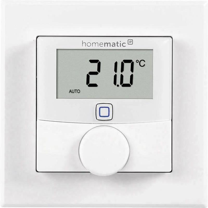 Homematic Ip Funk-Wandthermostat Hmip-Bwth 230 V Im Conrad Online