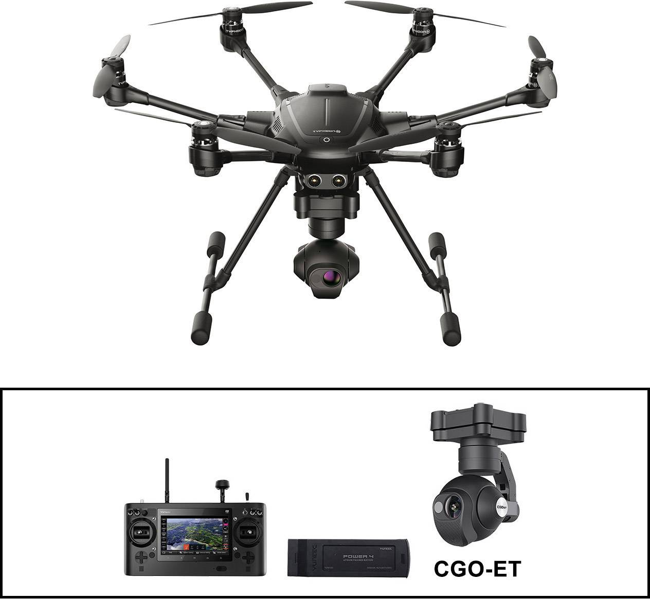 Yuneec Typhoon H Thermal Basic Set Cgo Et Industrie