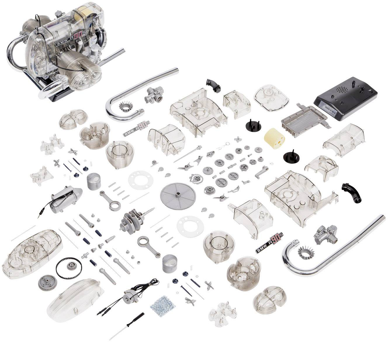 Franzis Verlag Bmw R 90 S Boxermotor Assembly Kit 14 Years