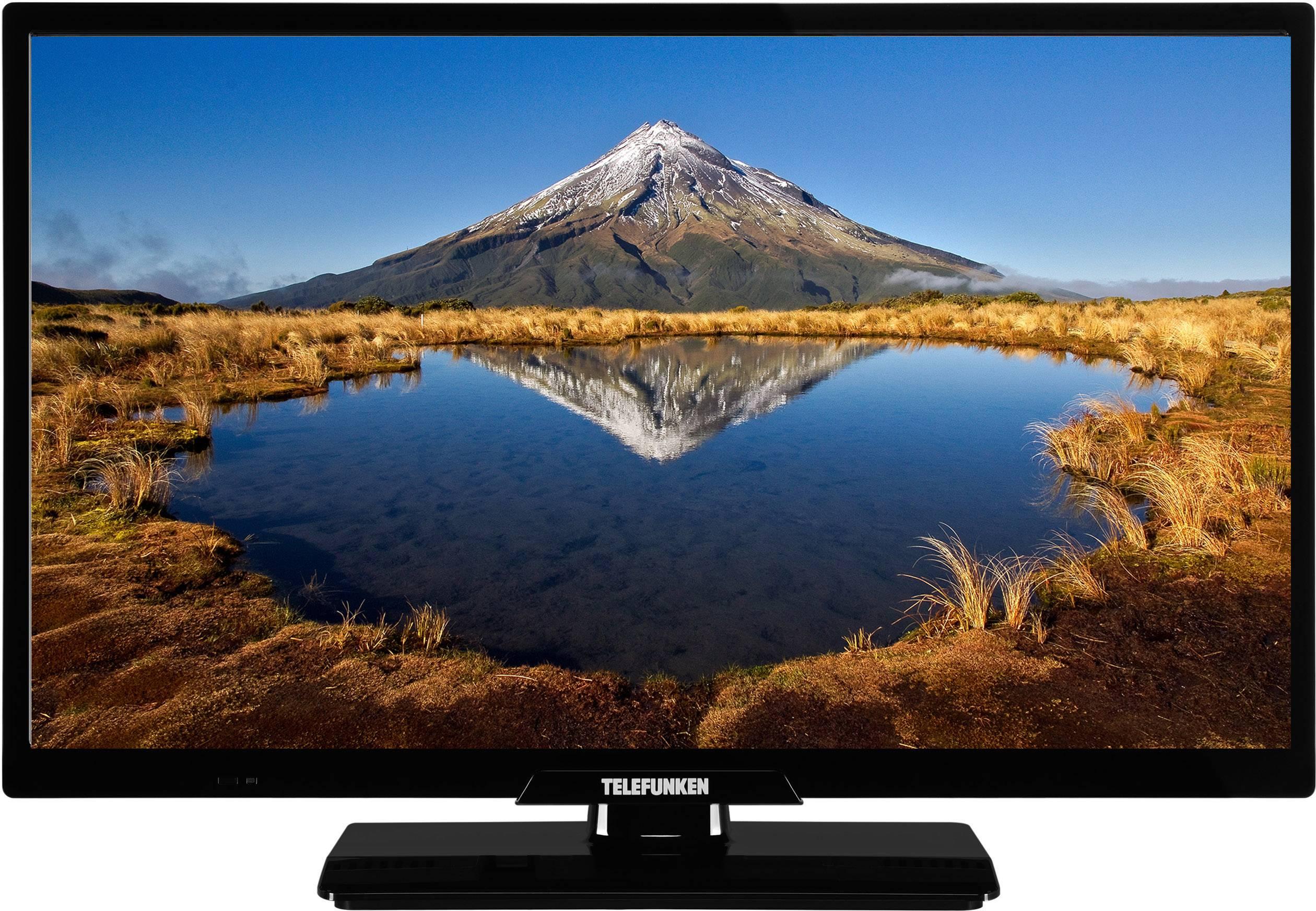 telefunken d24h340a led tv 60 cm 24 inch eec a a e dvb t2 dvb c dvb s hd ready ci black
