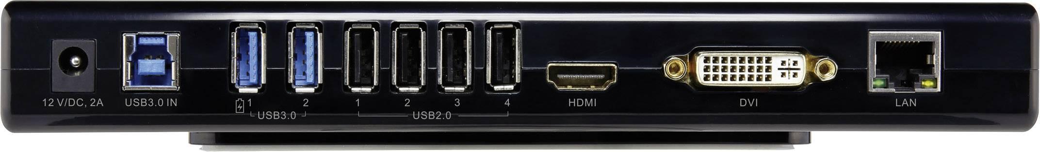 medium resolution of renkforcelaptop docking stationuniversal 2x usb 3 0 4x usb 2 0 1x hdmi headphones