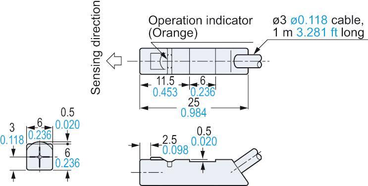 npn proximity sensor wiring diagram [ 1000 x 1000 Pixel ]