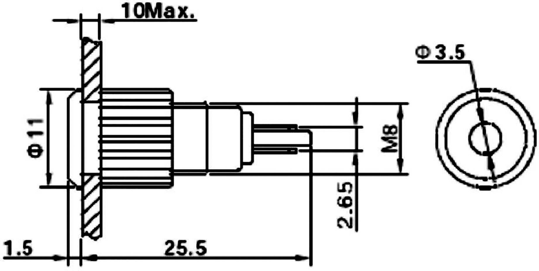 Tru Components Led Indicator Light Green 12 V Dc 12 V Ac