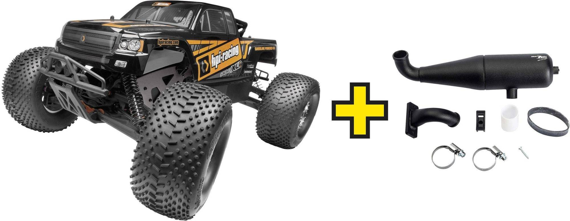 hight resolution of hpi racing savage xl octane 1 8xl rc model car petrol monster truck 4wd rtr