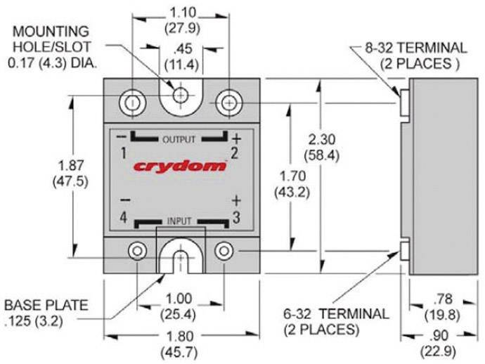 crydom d1d20 solid state relay dc output from conrad com image similar [ 1000 x 1000 Pixel ]