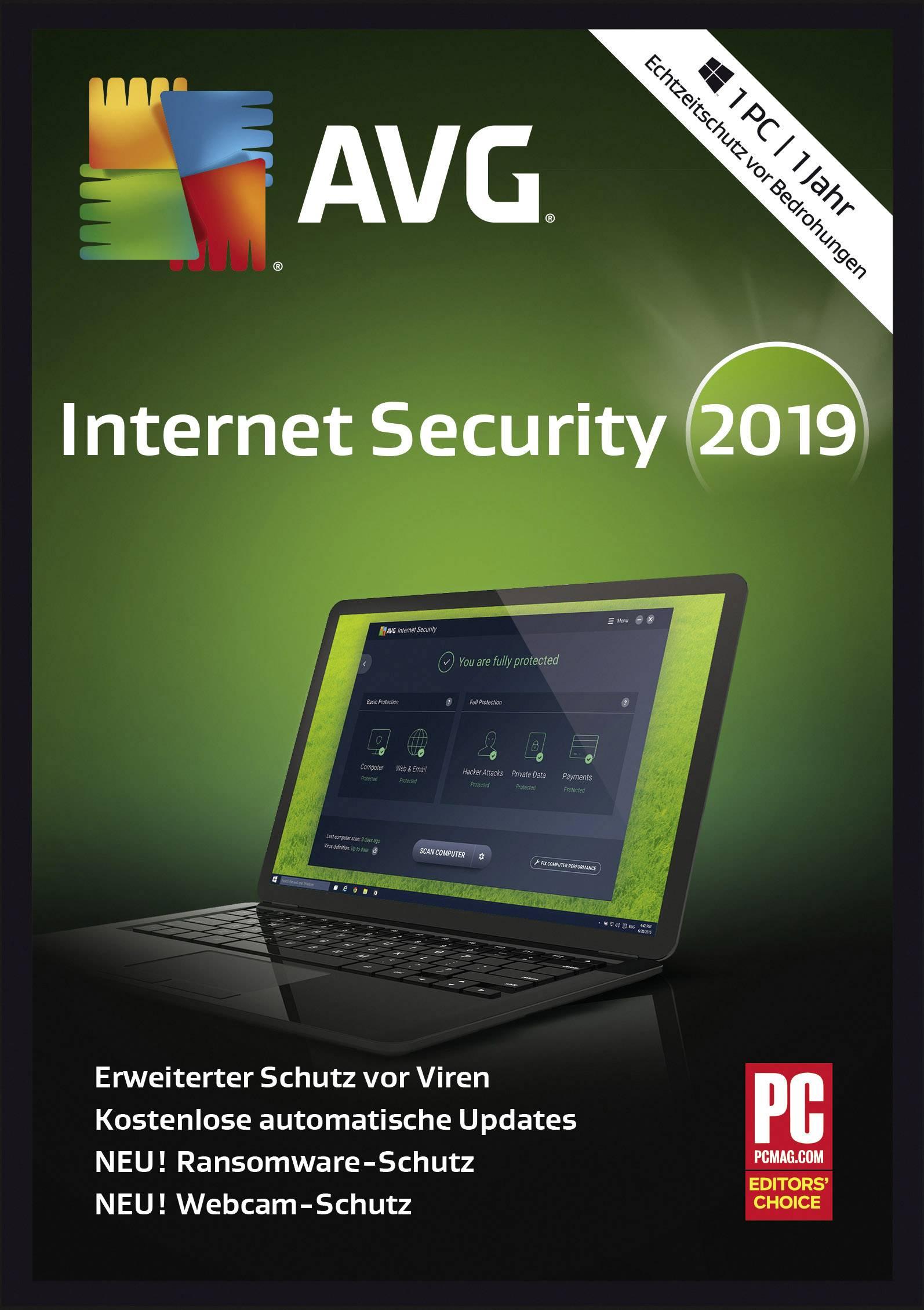 Avg Internet Security 2019 : internet, security, Internet, Security, Version,, Licence, Android,, Windows, Conrad.com
