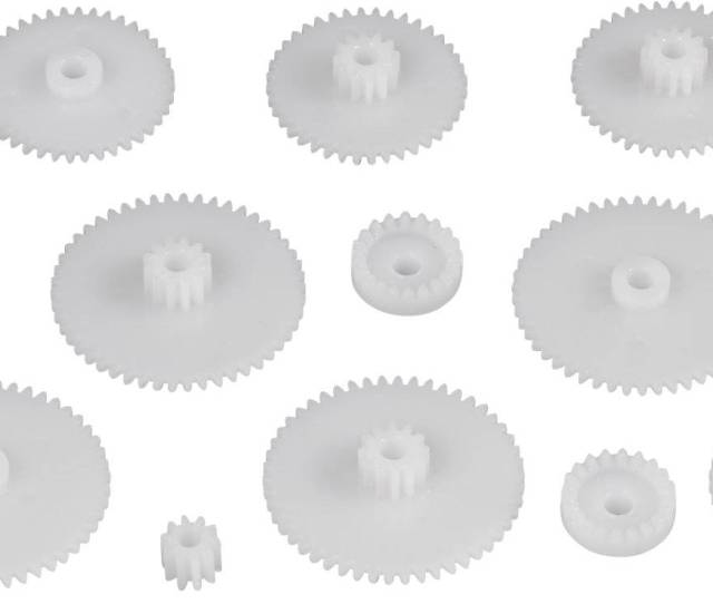 Reely Plastic Spur Gear Module Type 0 5 No Of Teeth   Pcs