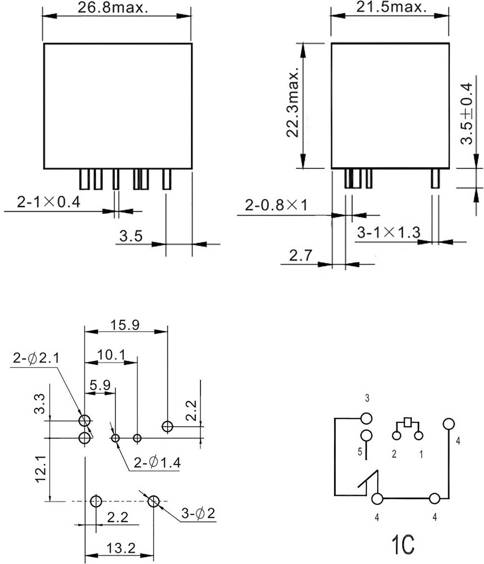 Fic Fra2c S2 Dc24v Automotive Relay 24 V Dc 40 A 1 Change